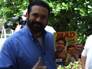 Billy Mays with Mad Magazine 2007