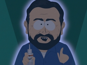 South Park Billy Mays pitching Mighty Mendit 2008