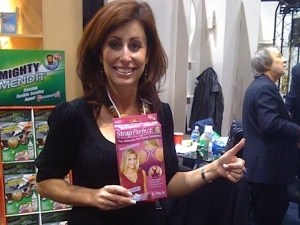 Mary Hicks, our Retail Sales VP, at our Housewares Show booth in 2008. Walmart is her passion!
