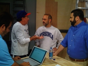 Mighty Set Discussion in 2008- Passionate to make the best possible spot.